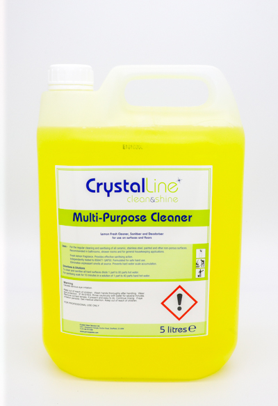 Crystalline multi purpose cleaner
