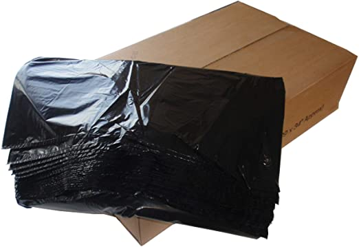 Black refuse sacks x 200